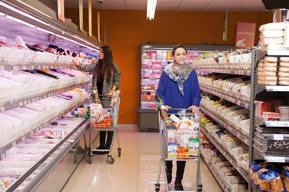 Un supermercat de bonÀrea.