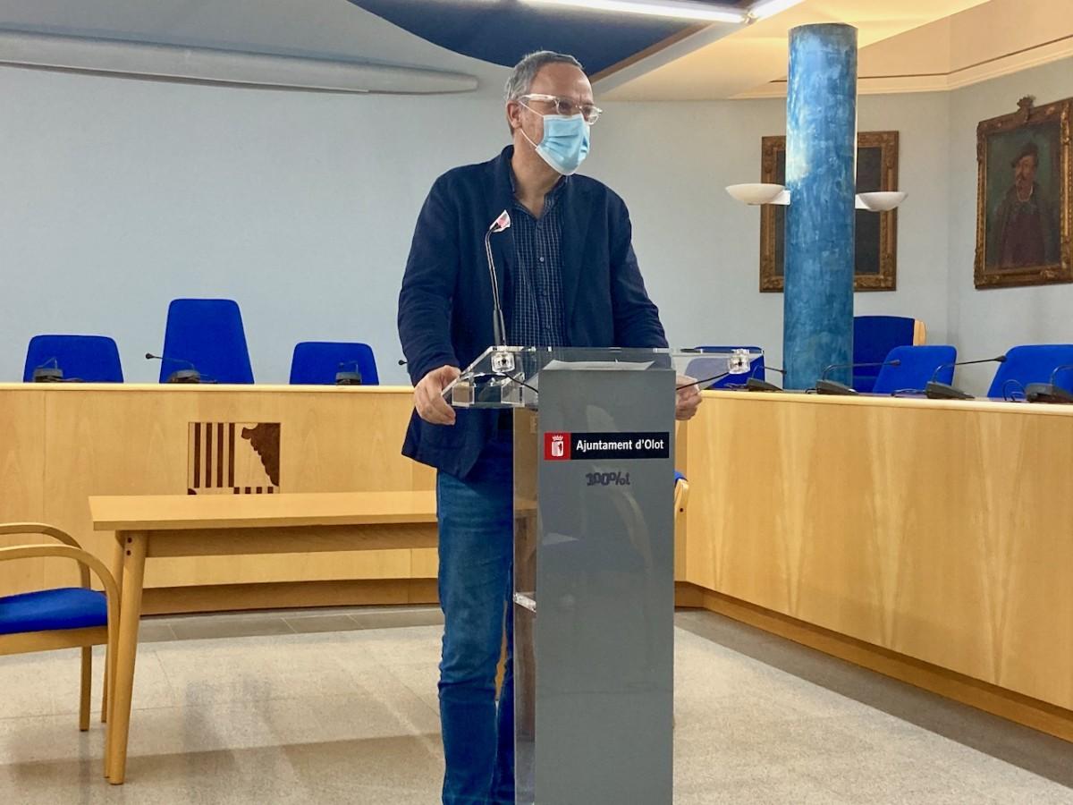 El regidor de Transició Energètica, Jordi Güell, ha donat detalls d'aquest primer aniversari.