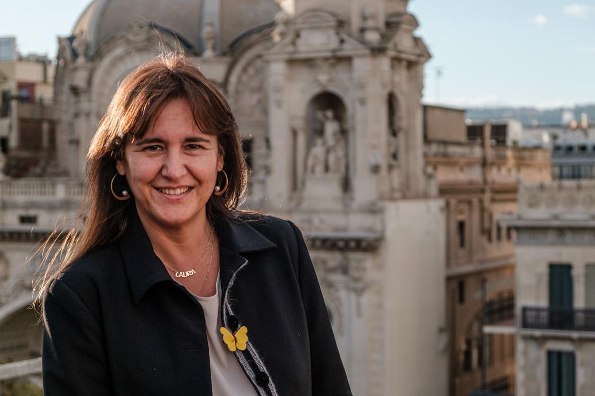 Laura Borràs, portaveu de JxCat al Congrés