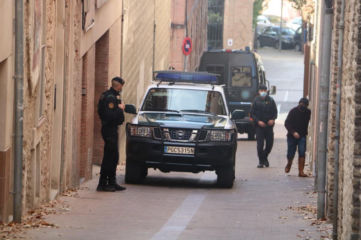 Operació de la Guàrdia Civil contra empresaris catalans.