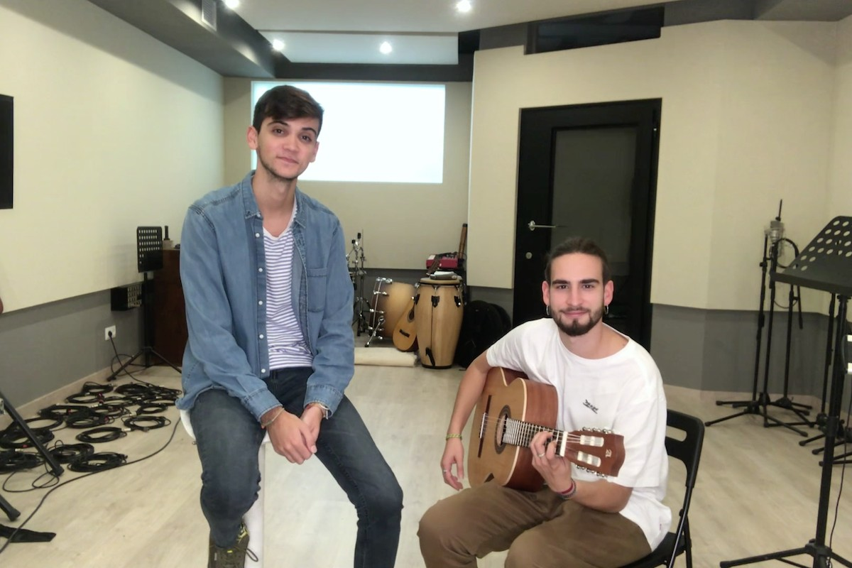 Dave Zulueta i Àlex Pérez