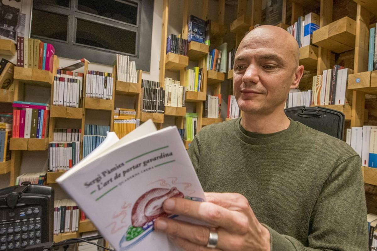 Marc Parrot a la llibreria Ona de Barcelona