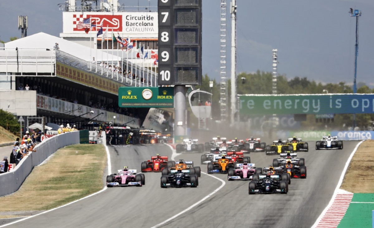 Una cursa de Fórmula 1 a Montmeló