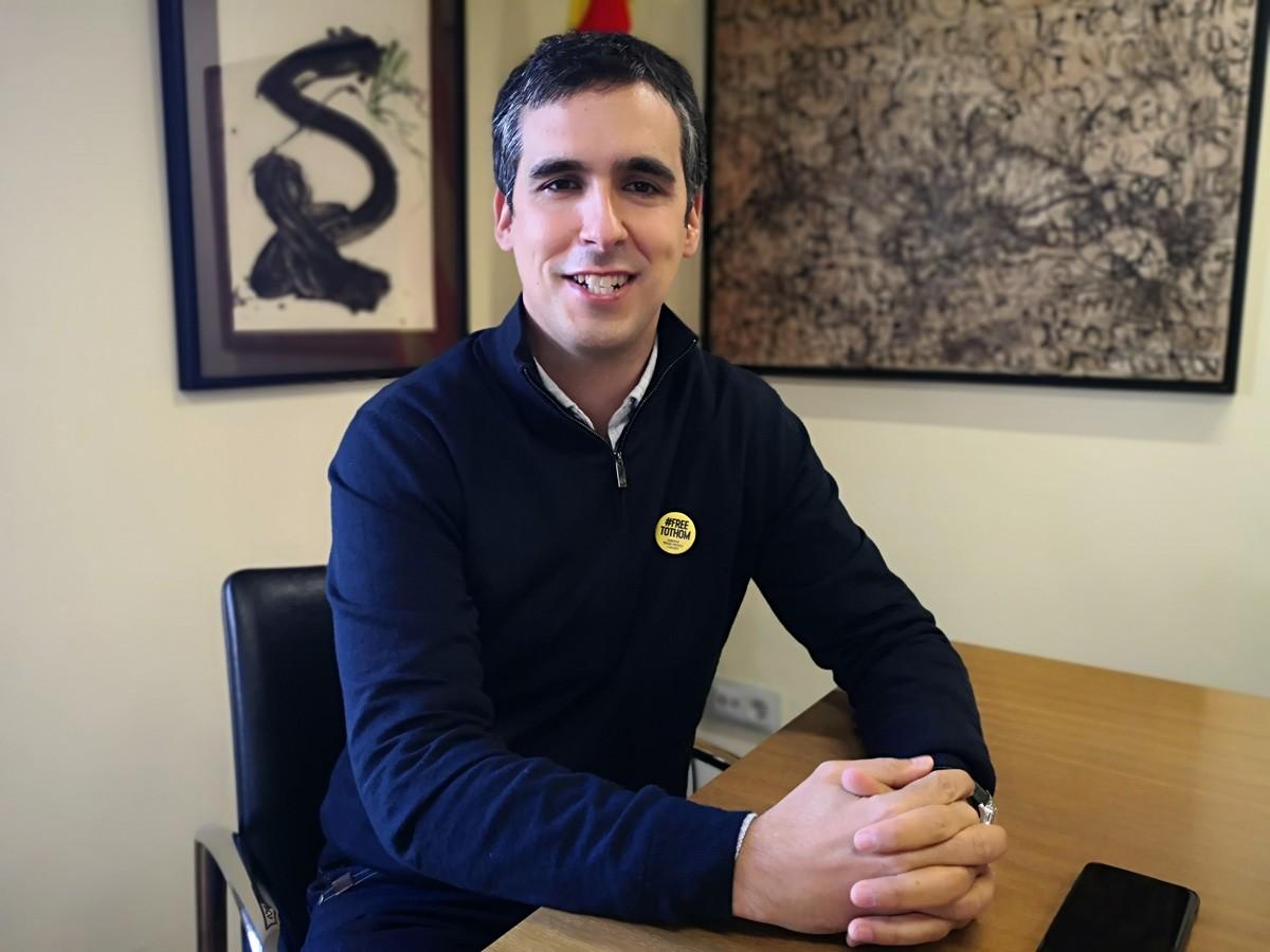 Raül Garcia, alcalde de Sant Celoni, coordinador de Junts per Catalunya del Vallès Oriental