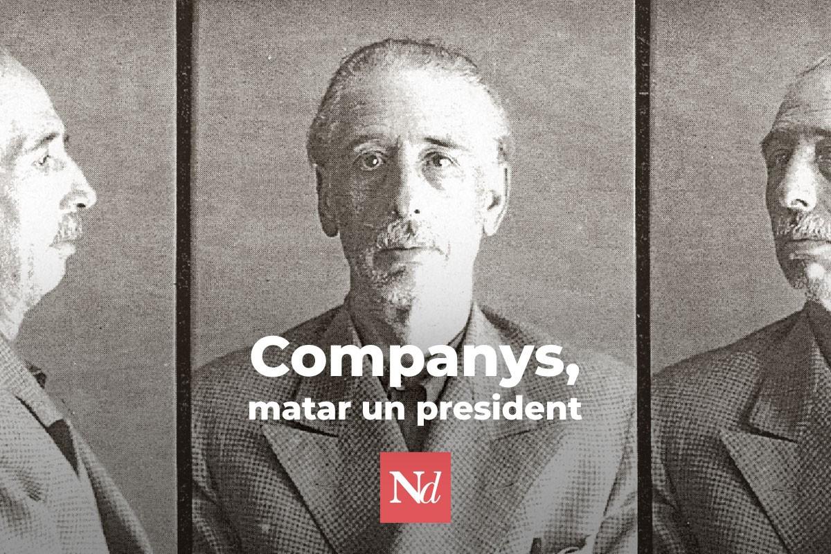 Dossier 003: 80 aniversari de l'afusellament del president Companys