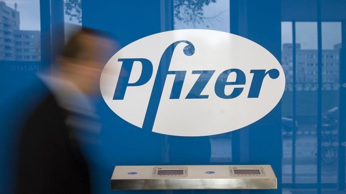 La seu de Pfizer, en una imatge d'arxiu.