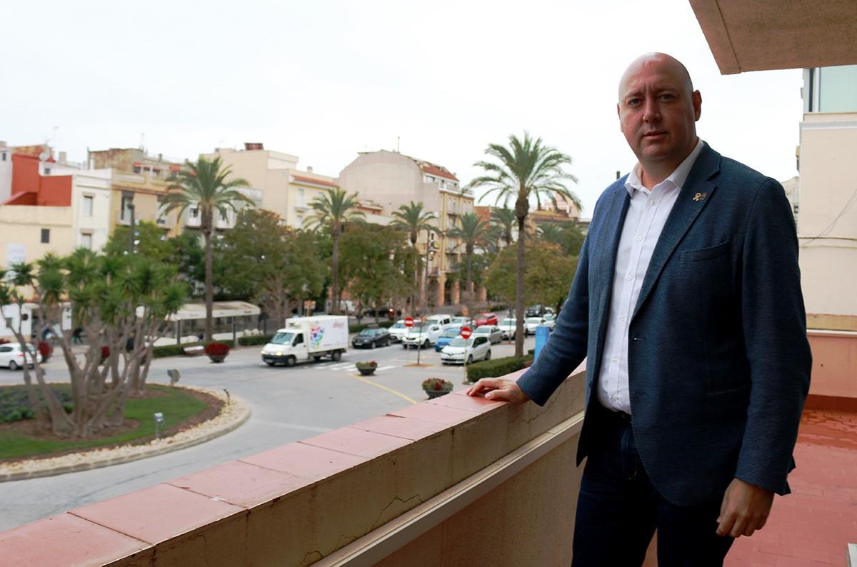 Josep Caparrós (ERC) és alcalde de la Ràpita des de l'any 2015. En este segon mandat, per majoria absoluta.