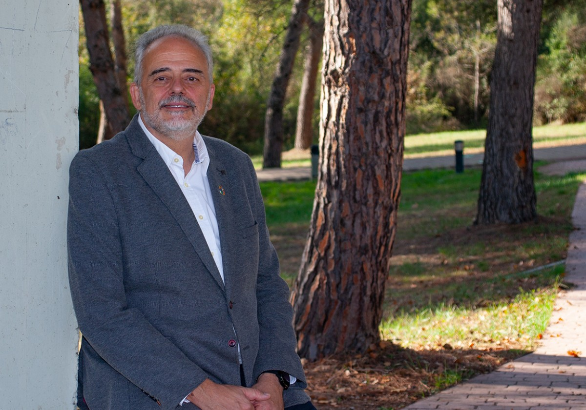 El nou rector de la UAB, Javier Lafuente