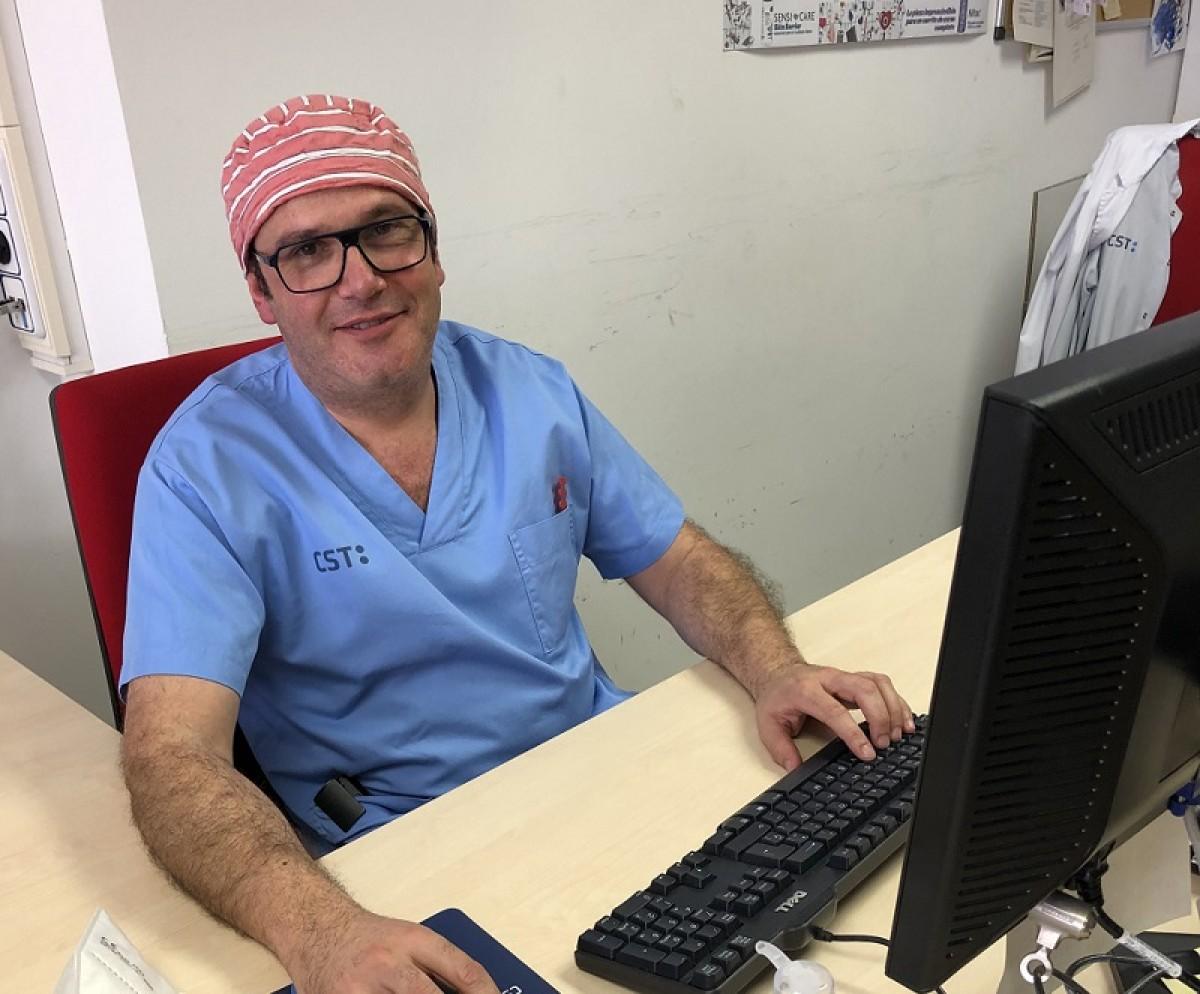 El doctor Alfons Arizmendi és el màxim responsable de l'UCI del Consorci Sanitari de Terrassa.