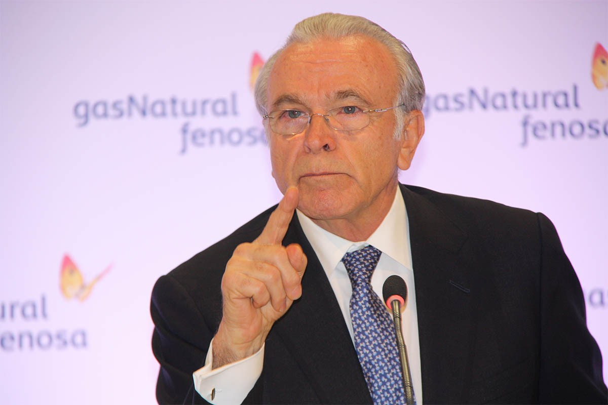 El manresà Isidre Fainé, expresident de CaixaBank