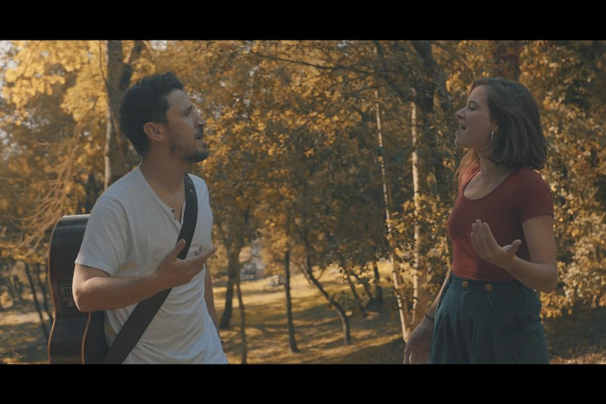 Josep Bordes i Maria Cruz al clip 'La vacuna'