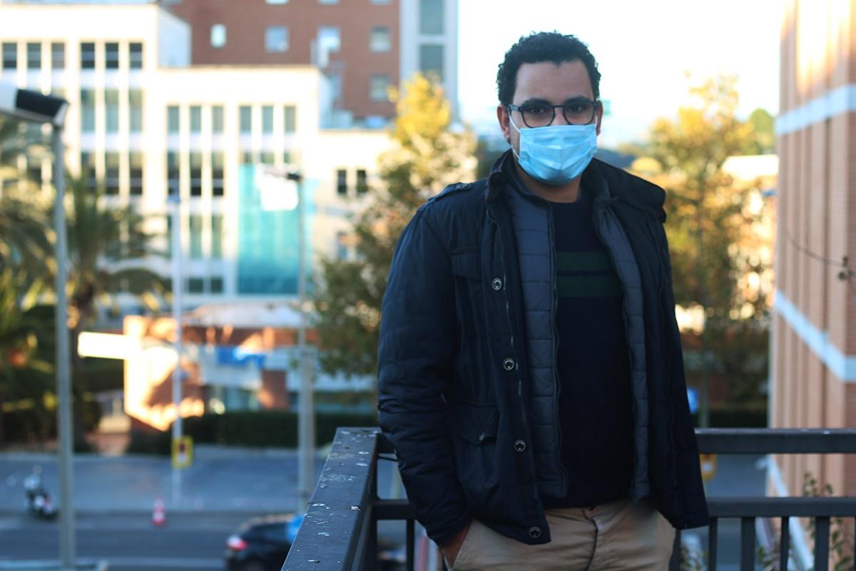 Mehdi Salec va arribar des d'un campament del Sàhara Occidental i actualment viu a Tarragona.