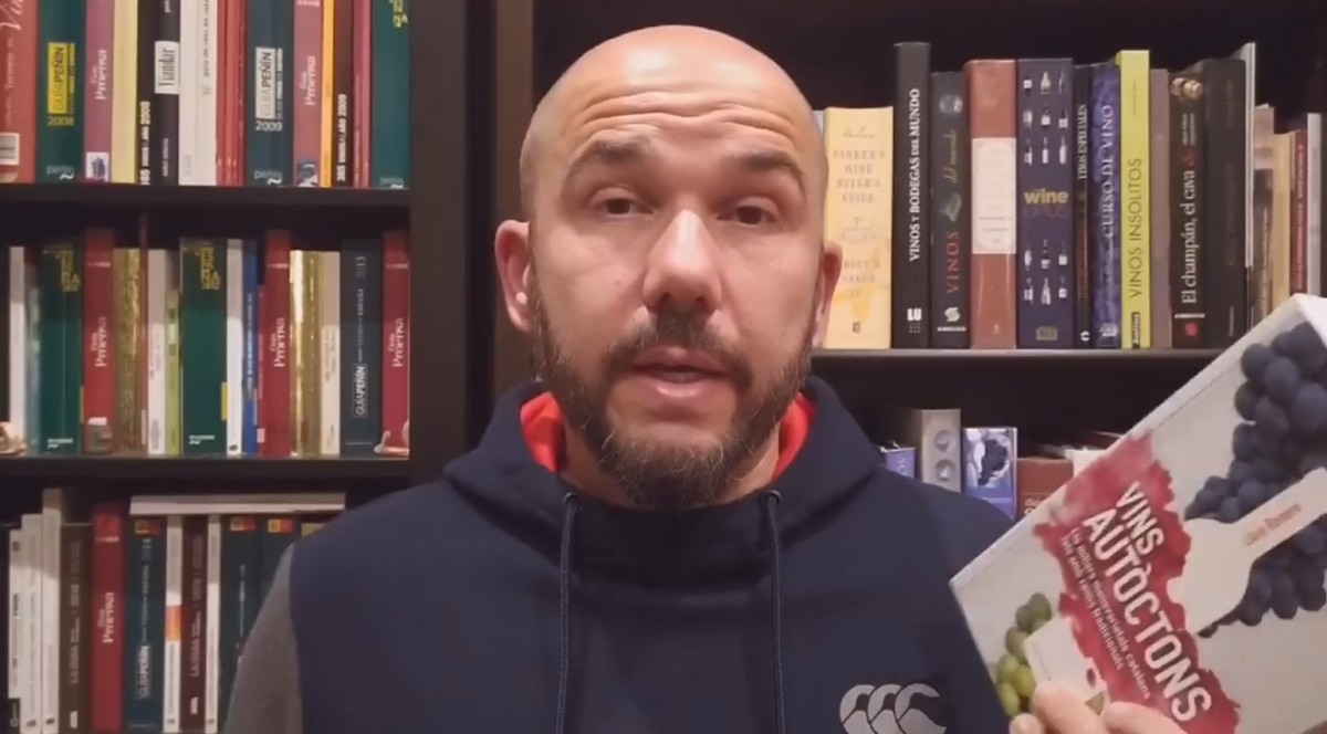 Lluís Romero, autor del llibre Vins autòctons
