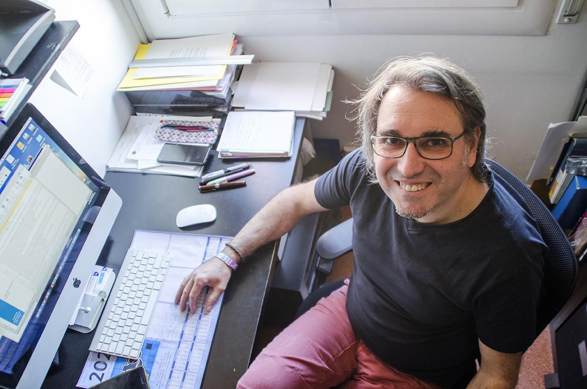 El secretari general del sindicat al Banc Sabadell, Vicenç Garcia