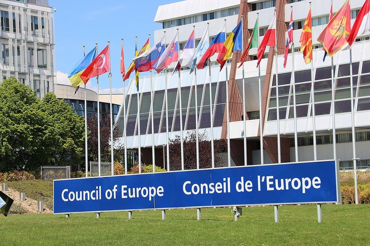 La seu del Consell d'Europa a Estrasburg.