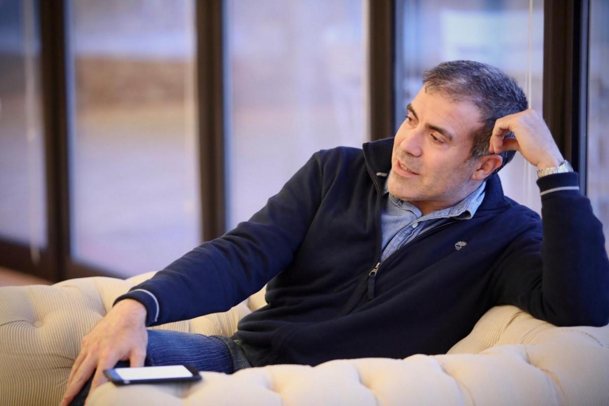 L'escriptor –i director de la xarxa de residències Faberllull–, Francesc Serés.