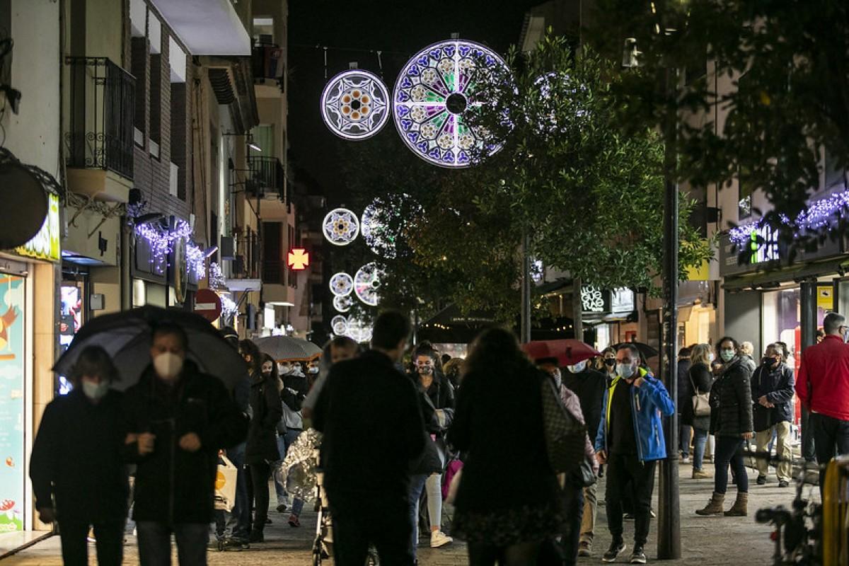 Llums de Nadal a Sant Cugat de Vallès