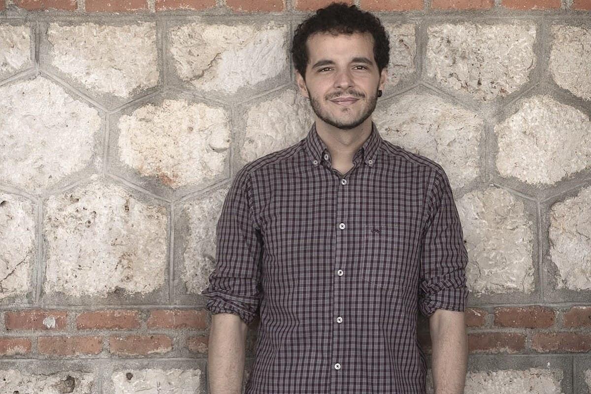 Pedro Gullón, coautor del llibre 'Epidemiocracia', amb Javier Padilla.