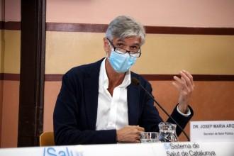 Argimon considera una «mala notícia» que Sanitat no permeti espaiar més les segones dosis de la vacuna