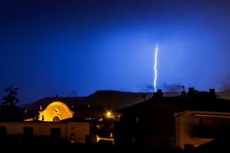 Dissabte plujós amb fortes tempestes a gairebé tot el país