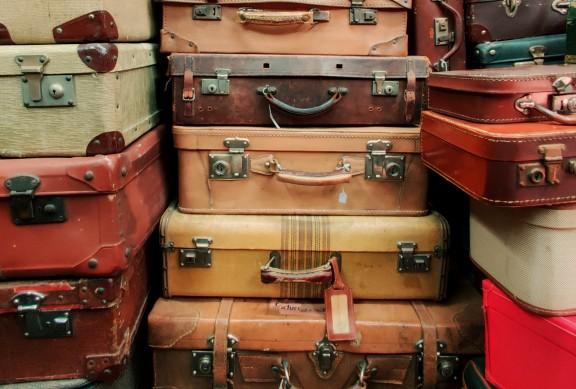 Llibres maleta (plens de records i llum)
