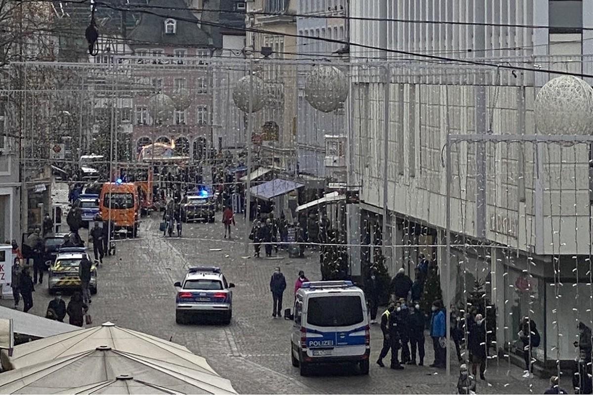 Imatge del centre de la ciutat d Trèveris