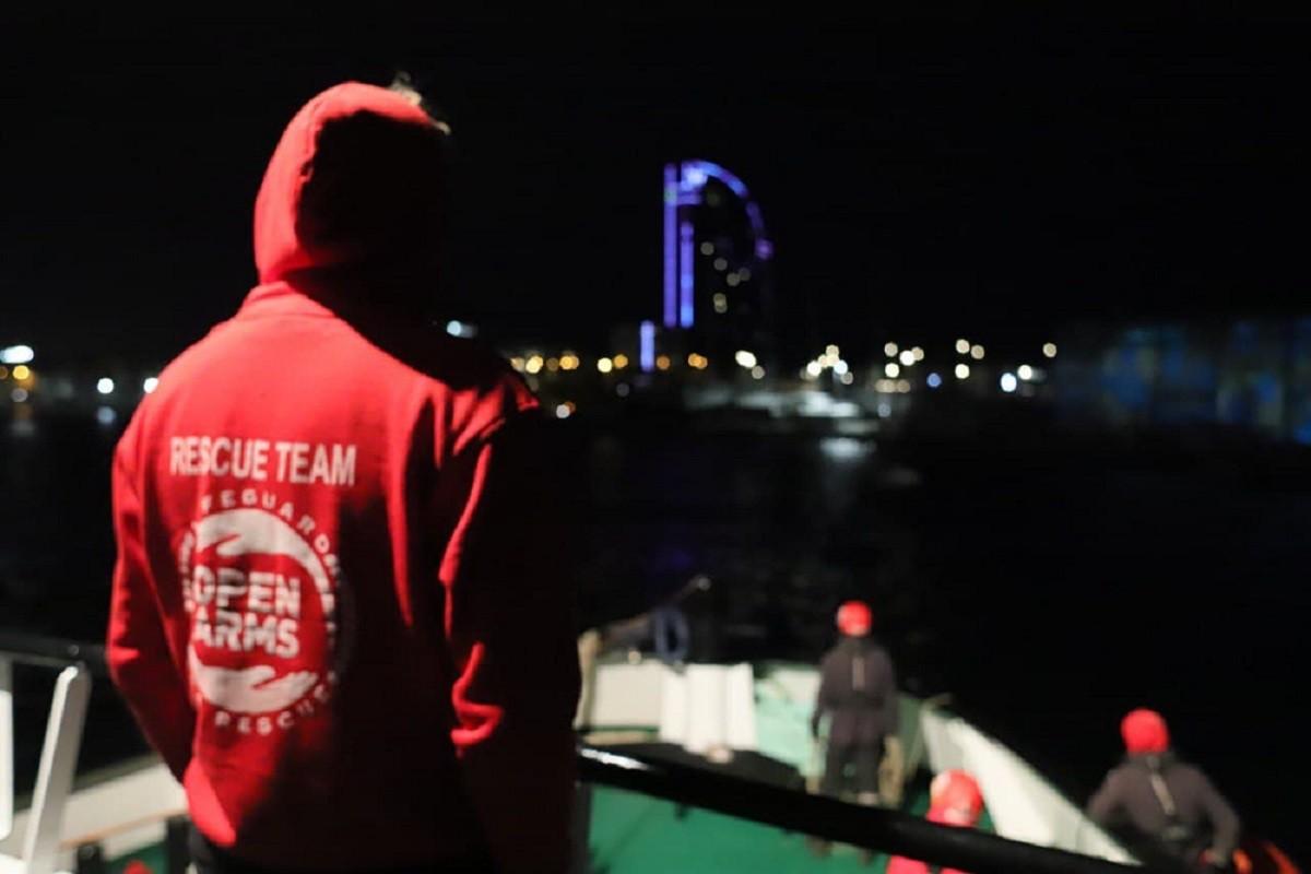 Les 259 persones rescatades per l'Open Arms ja tenen port segur