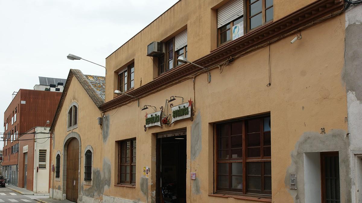 Barri del Molí d'en Rovira a Vilafranca.