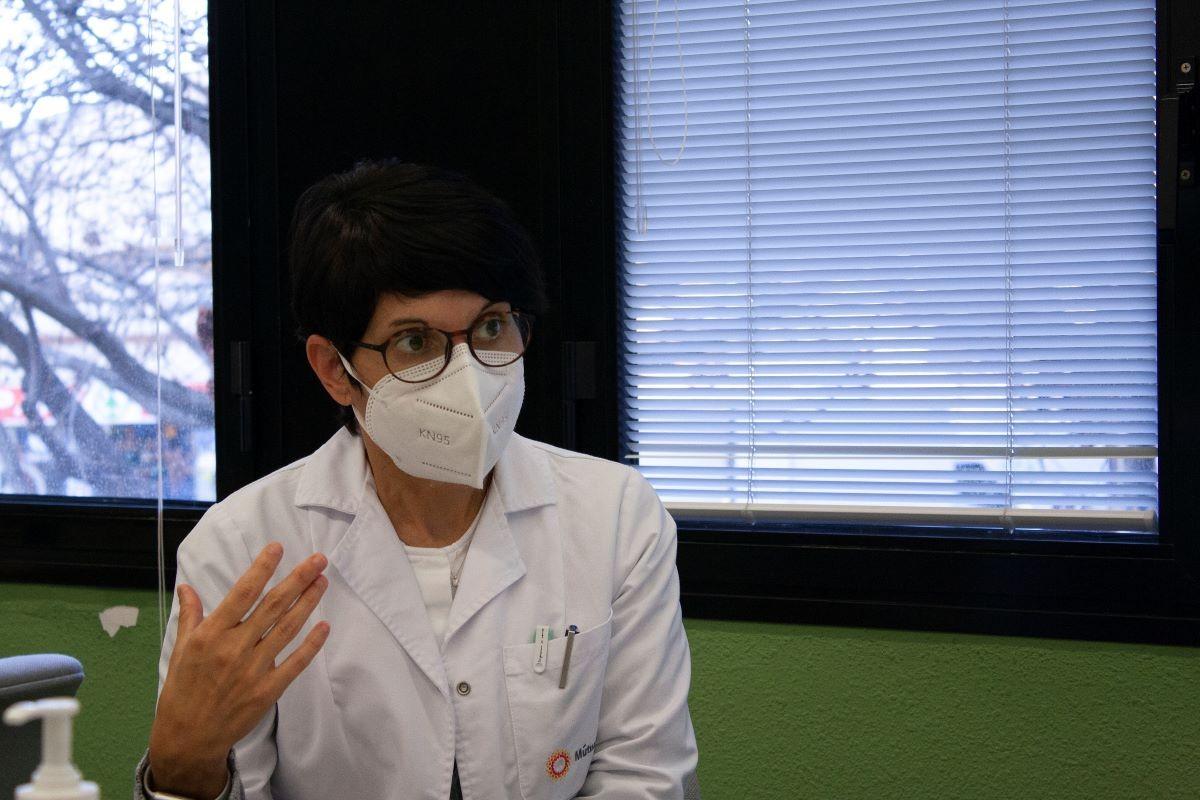 Directora del CAP Sant Cugat, la Dra. Raquel Hernández