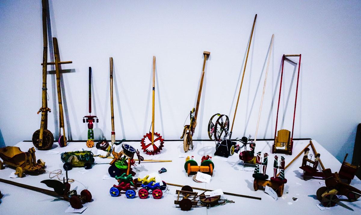 Exposició de joguines tradicionals al Museu de les Terres de l'Ebre