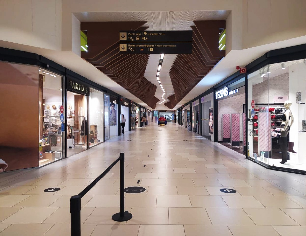 El centre comercial Parc Central de Tarragona