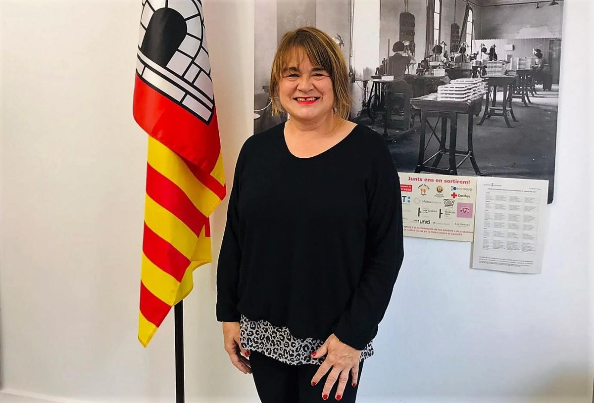 Lluïsa Melgares és la tinenta d'alcaldia de Territori i Sostenibilitat de l'Ajuntament de Terrassa.