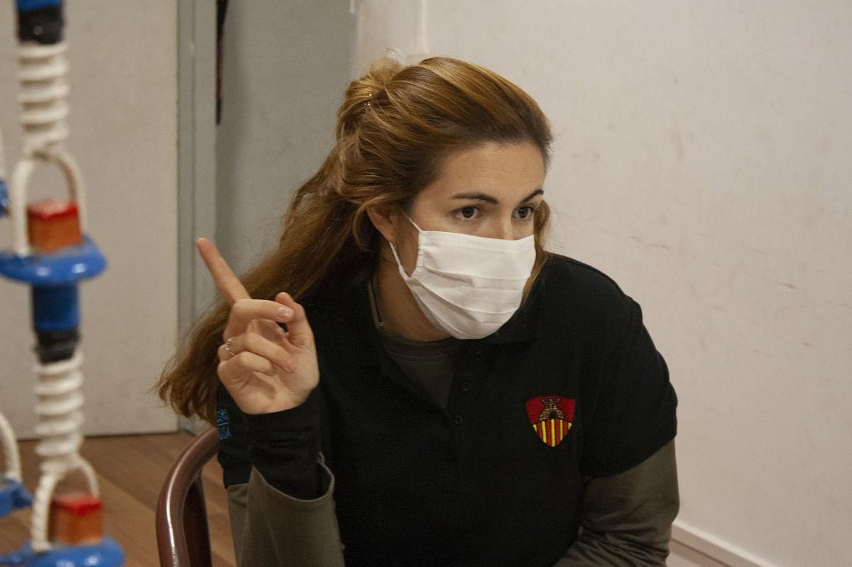 Arpal és presidenta dels Castellers de Terrassa des del 2018.