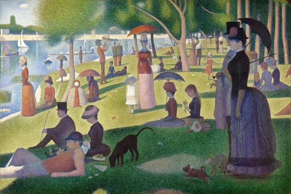 Els colors purs de Georges Seurat