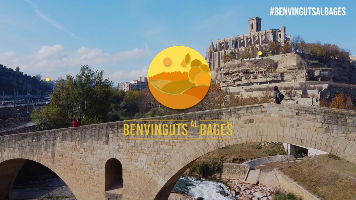 VÍDEO Benvinguts al Bages se submergeix a Manresa