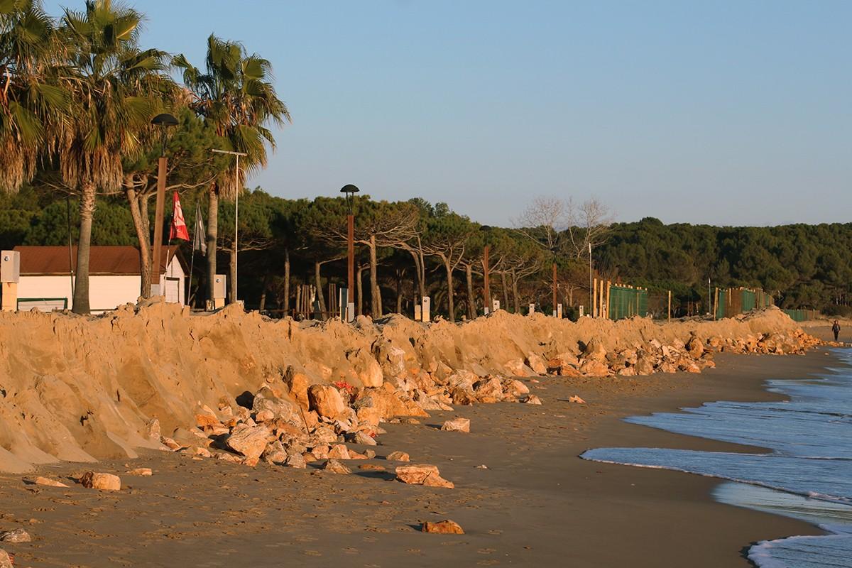 La platja Llarga de Tarragona.