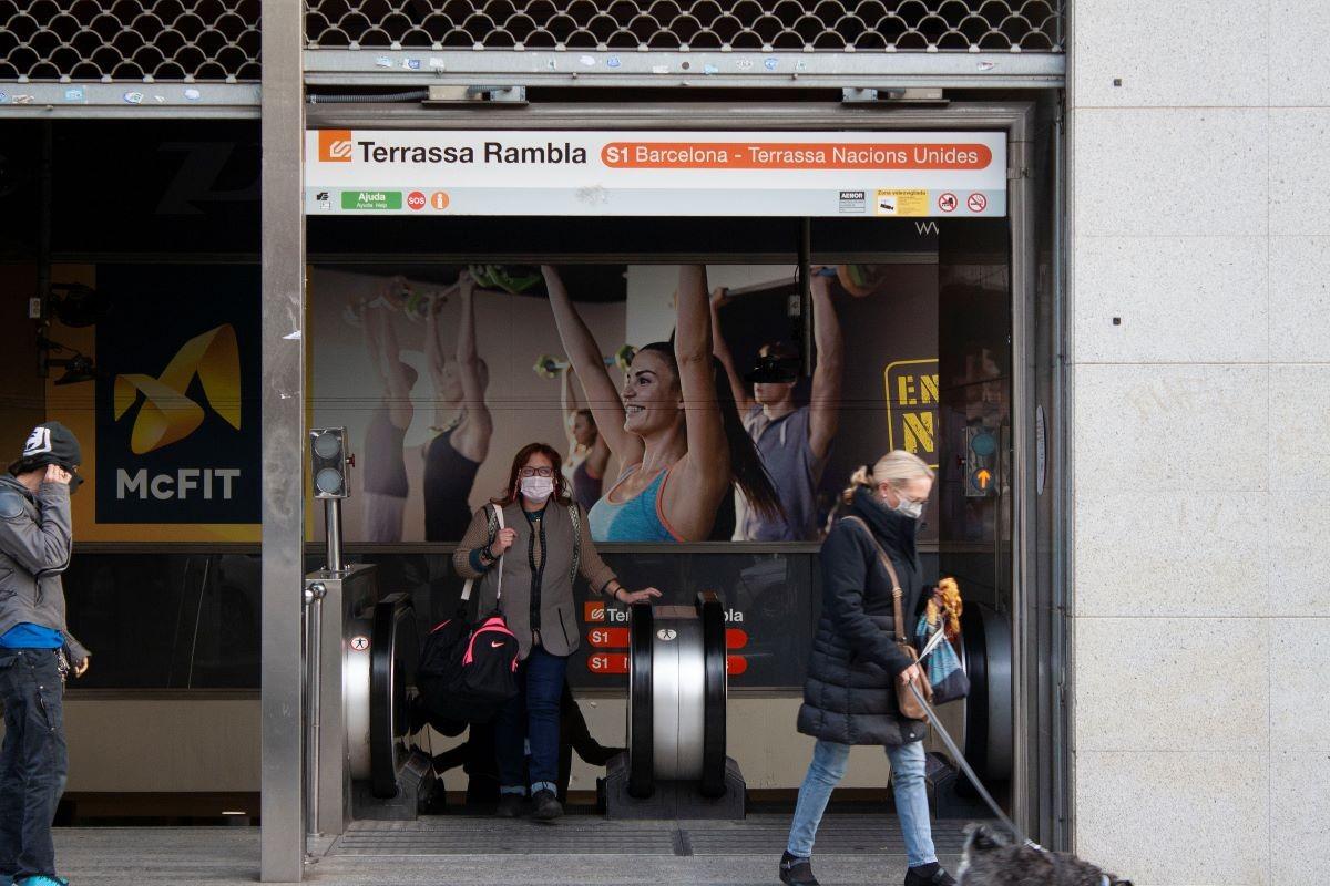 Estació de FCG Terrassa Rambla.