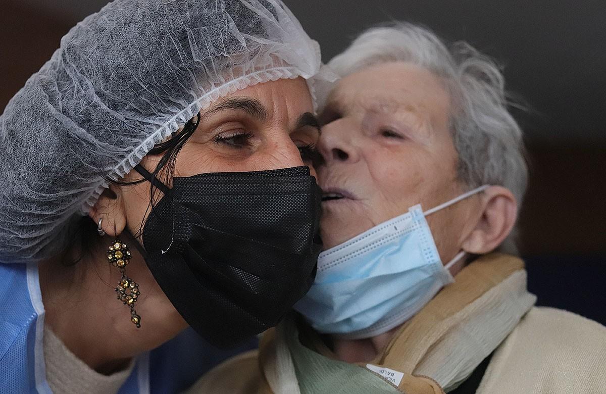 La Lola Muñoz i la seva mare Anna Vilaseca