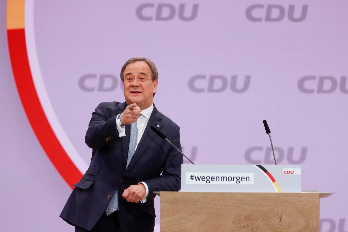Armin Laschet serà el successor de Merkel