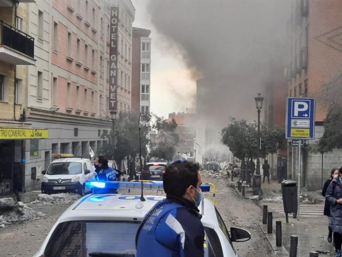 La deflagració s'ha produït al carrer Toledo