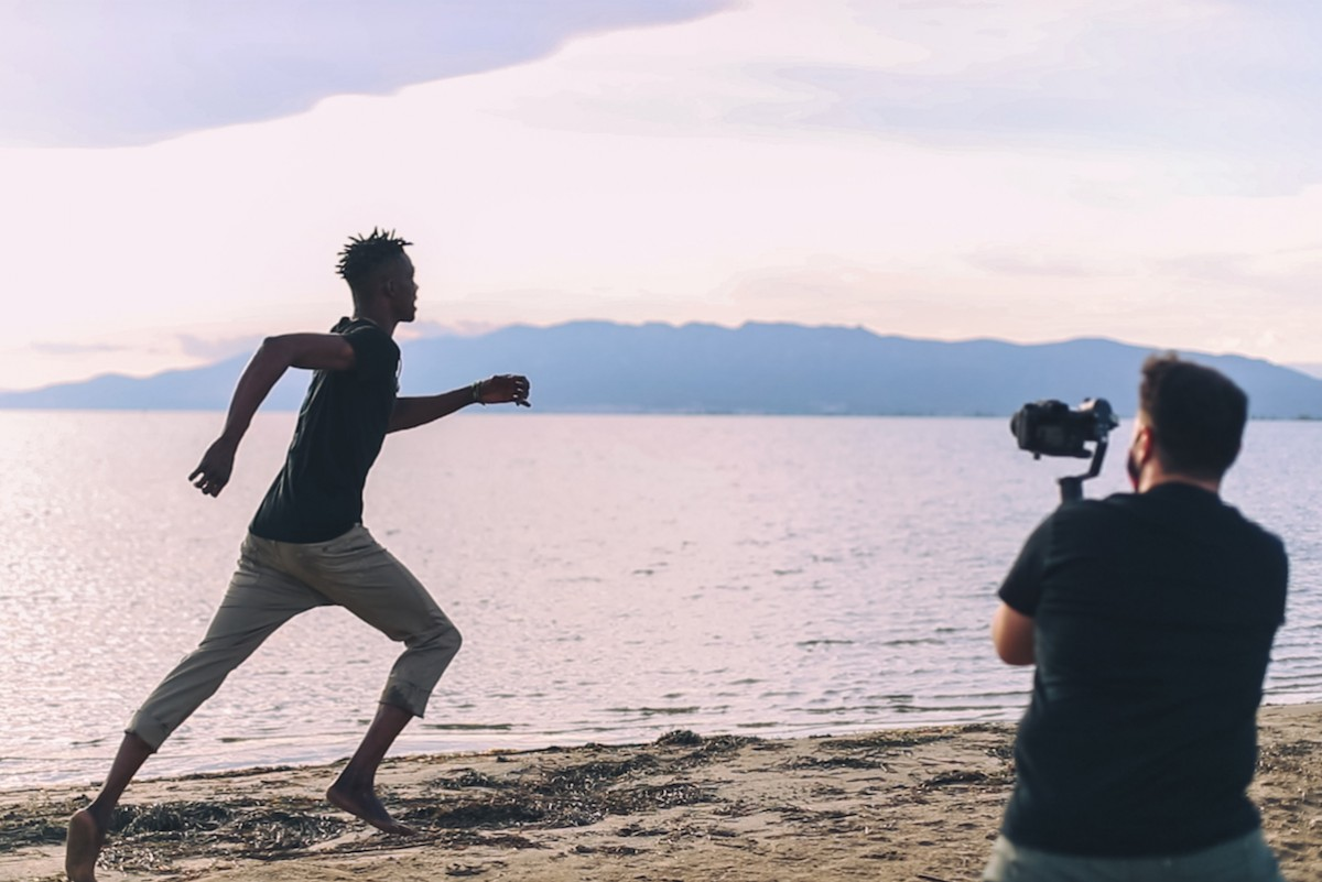 Rodatge del videoclip «Away»