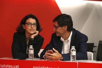 El PSC oficialitza el «no» a investir un Govern d'ERC i comuns