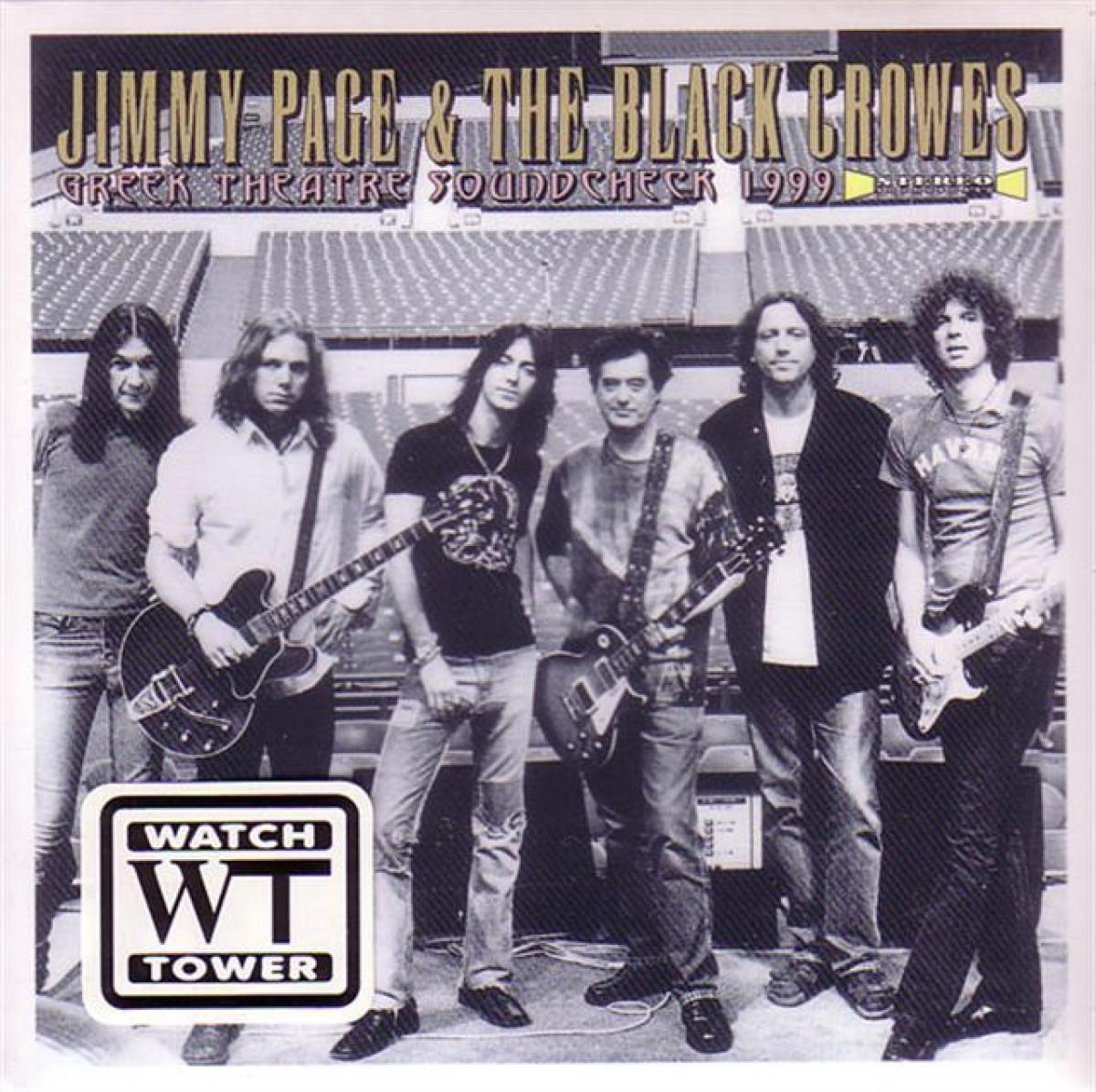 Jimmy Page & The Black Crowes: La reunió