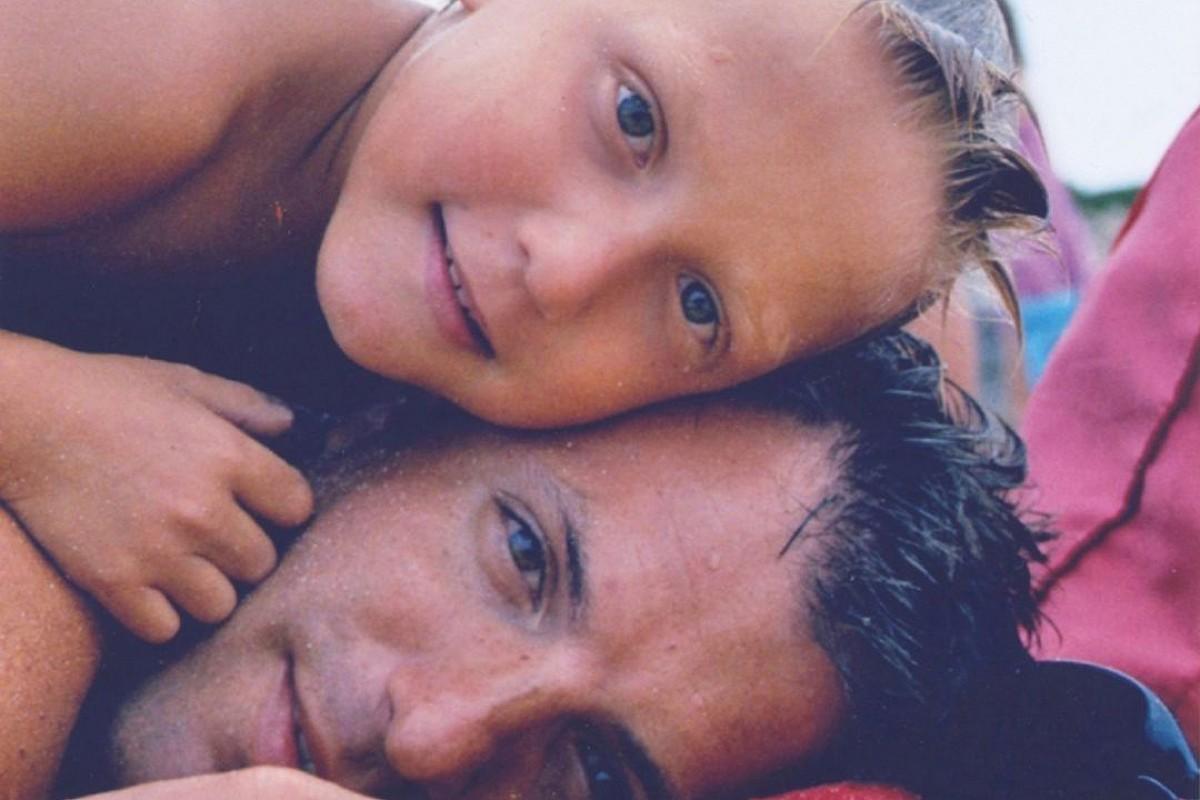 El Quim i l'Alexandre a la imatge de portada del seu llibre