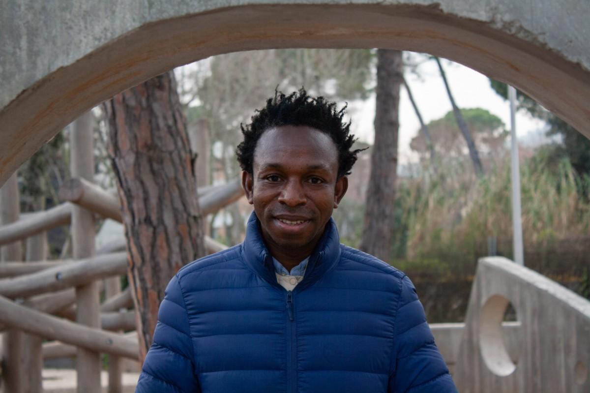 Ousman Umar va fer prop de 22.000 km a peu per arribar a Espanya