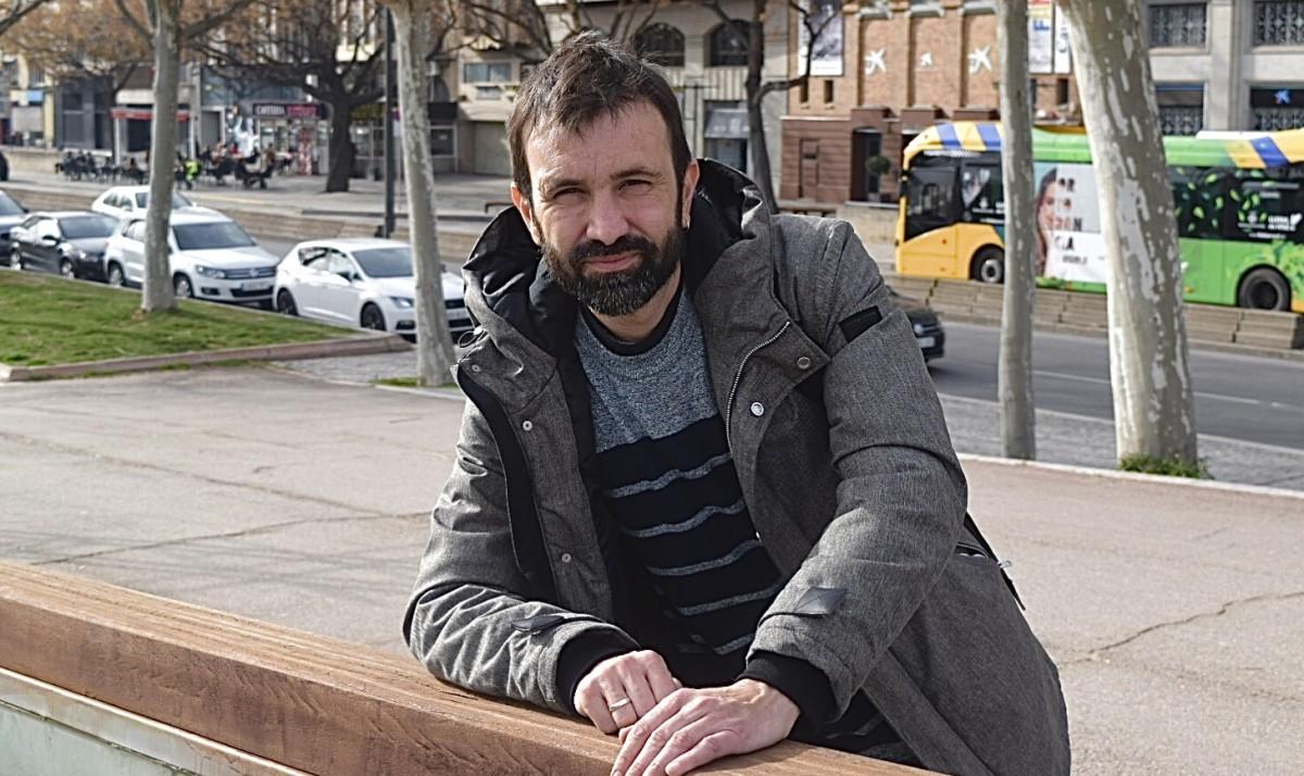 Pau Juvillà, candidat de la CUP a Lleida