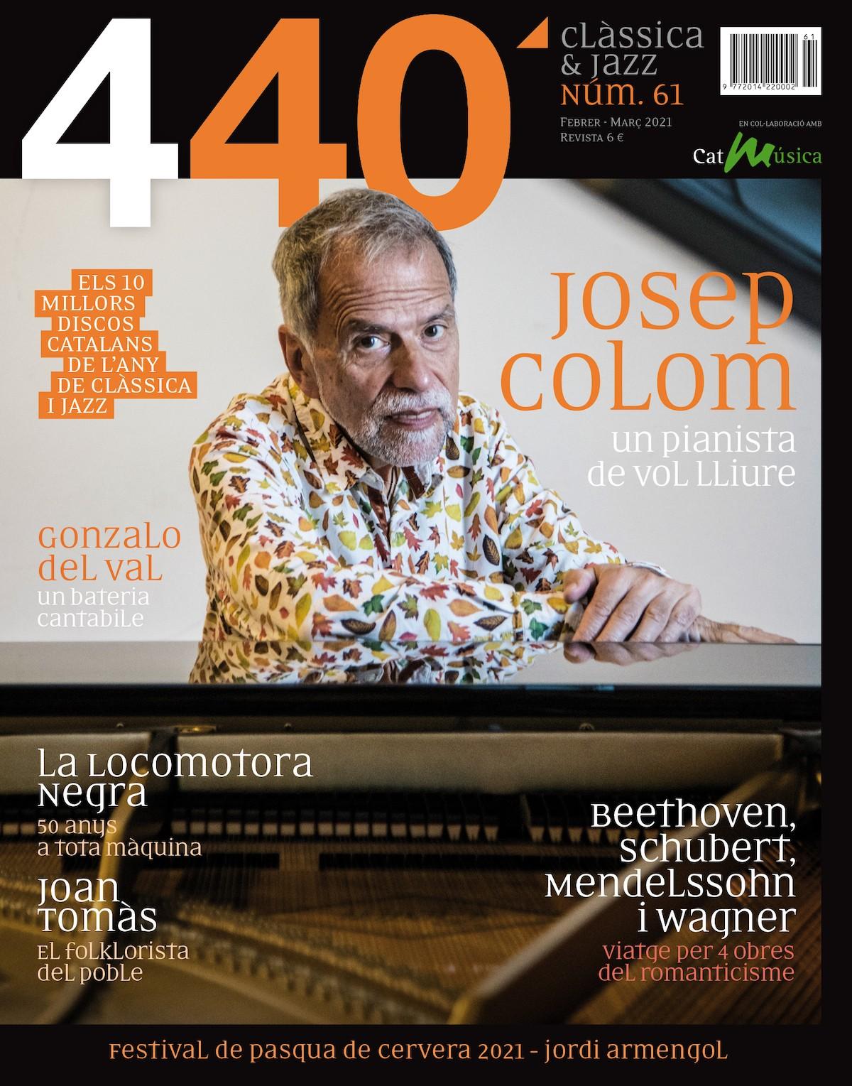 Portada Revista 440Clàssica&Jazz