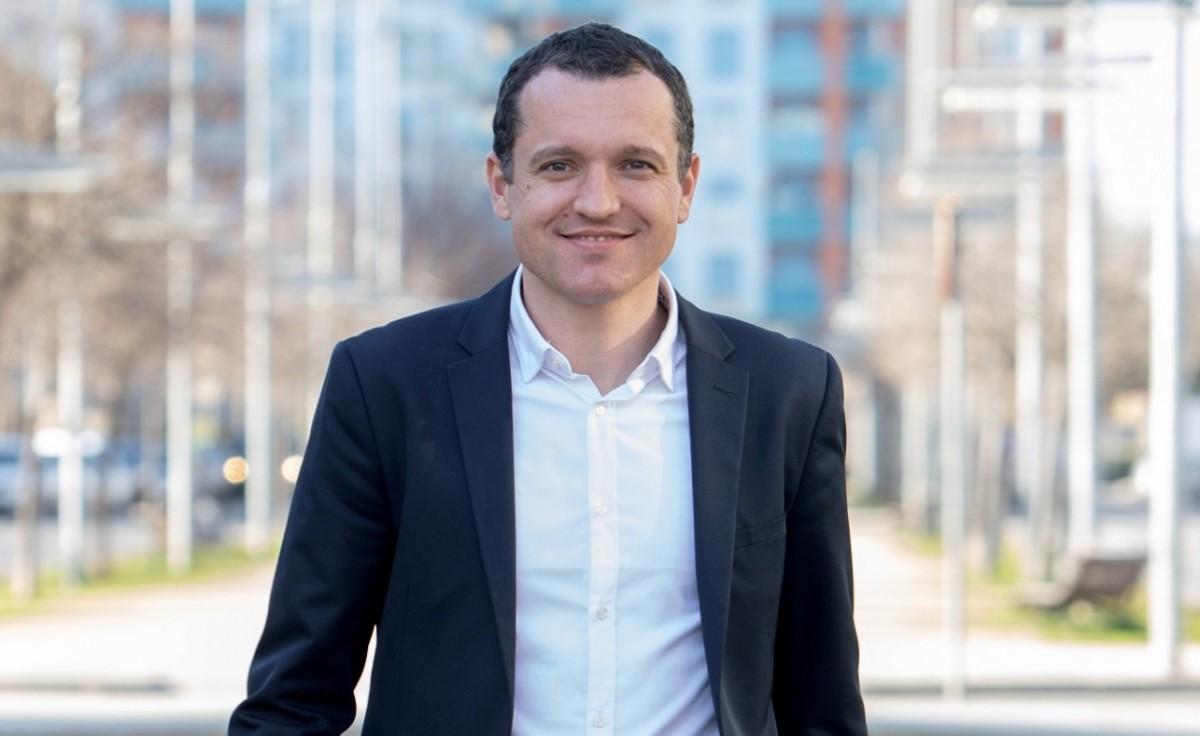 Òscar Ordeig, candidat del PSC a Lleida