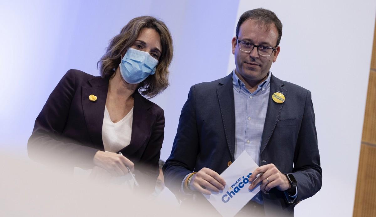 Àngels Chacón i Marc Solsona estaran al capdavant del PDECat.
