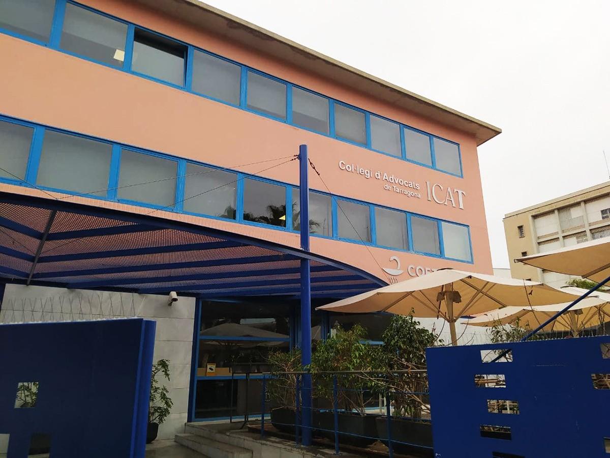 La seu de l'Il·lustre Col·legi de l'Advocacia de Tarragona (ICAT).